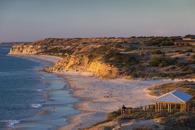 Australia, Fleurieu Peninsula, Port Willunga, Sunset-Walter Bibikow-Photographic Print