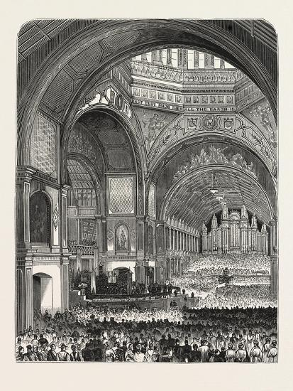 Australia: Opening of the Exhibition at Melbourne--Giclee Print