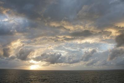 Australia, Queensland, Port Douglas. Sunrise over the Coral Sea-Cindy Miller Hopkins-Photographic Print