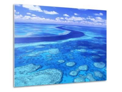 Australia's Great Barrier Reef-Theo Allofs-Metal Print