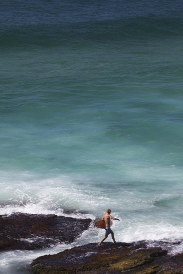 Australia, Sydney, Tamarama, Tamarama Bay-Walter Bibikow-Photographic Print