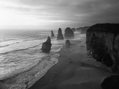 Australia, Victoria, the Twelve Apostles in Port Campbell NP-Greg Probst-Photographic Print