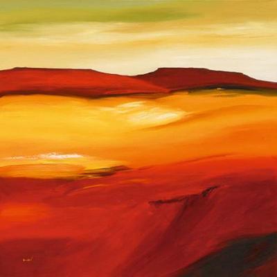 Australian Landscape I-Andre-Art Print