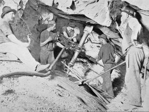 Gold Mining, Victoria, c.1900, from 'Under the Southern Cross - Glimpses of Australia', Published… by Australian Photographer
