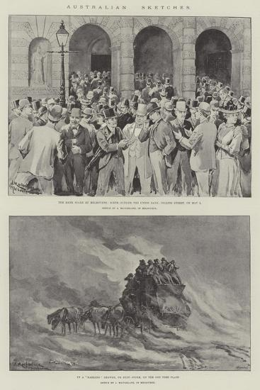 Australian Sketches-J. Macfarlane-Giclee Print