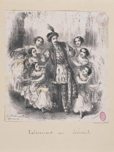 Austria, a Scene from the Opera the Abduction from the Seraglio--Giclee Print