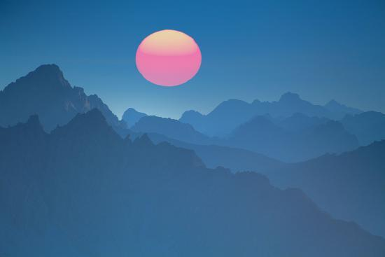 Austria, Lechtal Alps (M)-Ludwig Mallaun-Photographic Print
