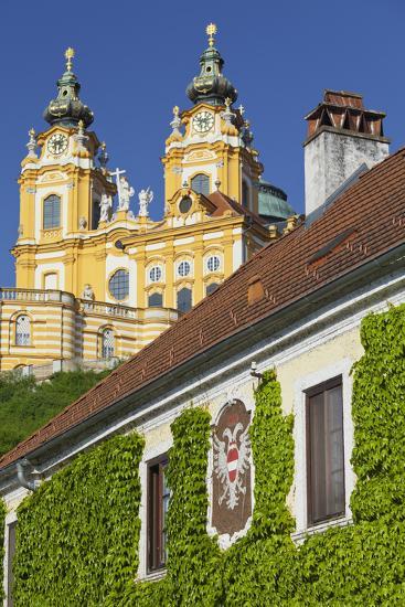 Austria, Lower Austria, Benediktinerkloster Stift Melk (Cloister)-Rainer Mirau-Photographic Print