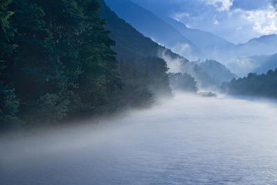 Austria, Salzburg Country, River Lammer, Evening Light, Smoke-Rainer Mirau-Photographic Print