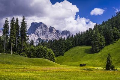 Austria, Salzburg Country, Wei?bach with Lofer-Udo Siebig-Photographic Print