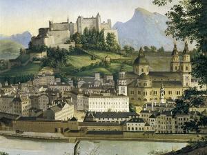 Austria, Salzburg, View of Salzburg