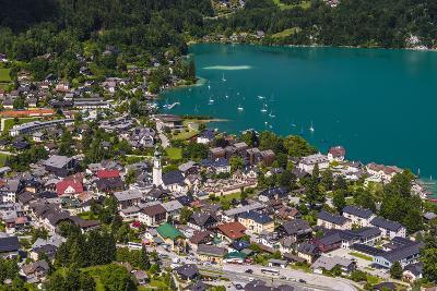 Austria, Salzburger Land (Ferderal State of Austria), Lake Wolfgangsee-Udo Siebig-Photographic Print