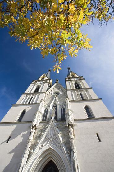 Austria, Styria, Admont, Benedictine-Monastery Admont, Church, Outside-Facade-Rainer Mirau-Photographic Print