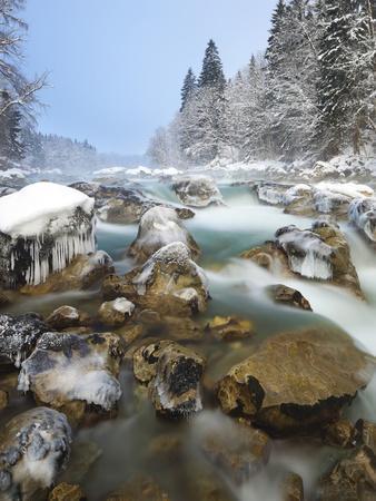 Austria, Styria, Enns Am GesŠuseeingang (Village-Rainer Mirau-Photographic Print