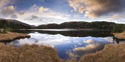 Austria, Styria, Preber-See, Landscape, Cloudy-Mood-Rainer Mirau-Photographic Print