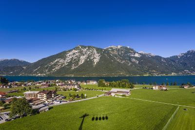 Austria, Tyrol, Achensee Region, Karwendel Mountains, Pertisau (Village-Udo Siebig-Photographic Print