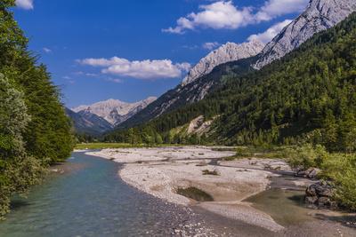 Austria, Tyrol, Karwendel Mountains, Alpenpark Karwendel, Ri?tal-Udo Siebig-Photographic Print