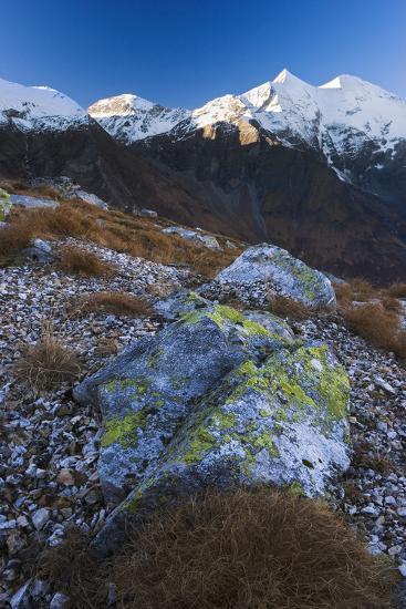 Austria, Tyrol, National-Park Hohe Tauern, Rocks, Mountain Scenery-Rainer Mirau-Photographic Print
