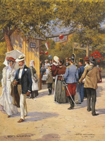 Austria, Vienna, a Walk in the Prater Painting--Giclee Print