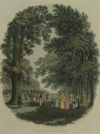 Austria, Vienna, Augarten Park--Giclee Print