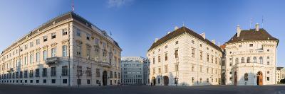Austria, Vienna, Ballhausplatz, Federal Chancellery of the Republic, Outside-Facade, Panorama-Rainer Mirau-Photographic Print