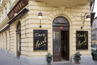 Austria, Vienna, Cafe Sperl, Cafe in Retro Styled Building-Rainer Mirau-Photographic Print