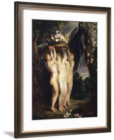 Austria, Vienna, Coronation--Framed Giclee Print