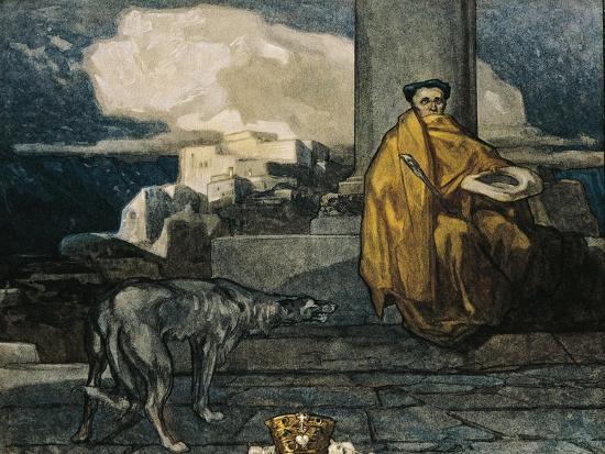 Austria, Vienna, Illustration of Dante Alighieri's Divine Comedy--Giclee Print
