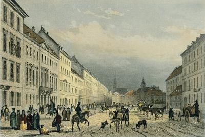 Austria, Vienna, Laegerzeile--Giclee Print