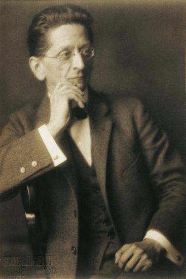 Austria, Vienna, Photographic Portrait of Alexander Von Zemlinsky--Giclee Print