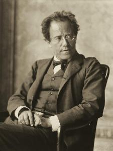 Austria, Vienna, Photographic Portrait of Gustav Mahler
