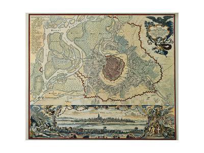 Austria, Vienna, Plan, 1720--Giclee Print