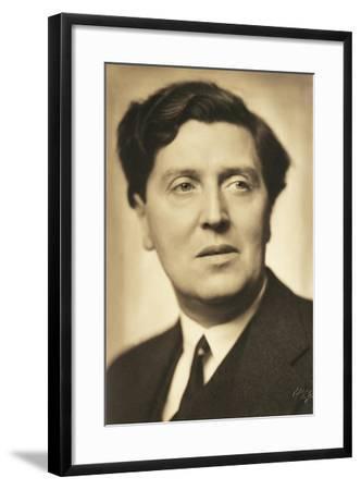 Austria, Vienna, Portrait of Alban Berg, 1932--Framed Giclee Print