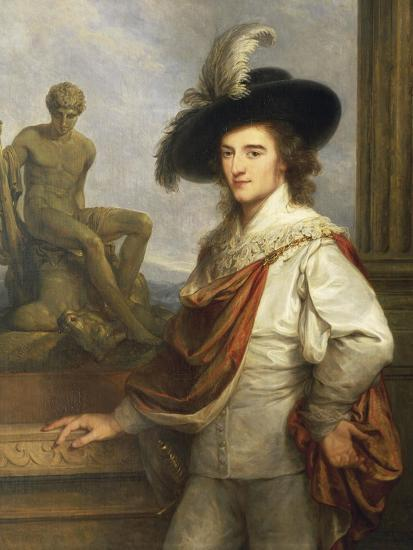 Austria, Vienna Portrait of Austrian Collector, Joseph Johann Graf Fries--Giclee Print