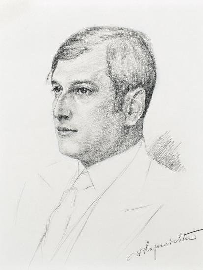 Austria, Vienna, Portrait of Clemens Krauss--Giclee Print