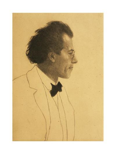 Austria, Vienna, Portrait of Composer Gustav Mahler--Giclee Print