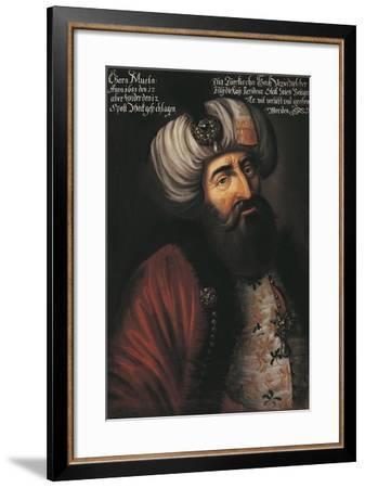 Austria, Vienna, Portrait of Kara Mustafa, Grand Vizier of Mohammed IV--Framed Giclee Print