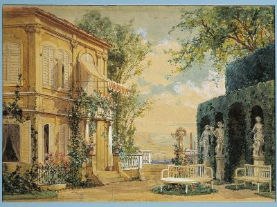 Austria, Vienna, Set Design for Performance Thus Do They All or the School for Lovers--Giclee Print