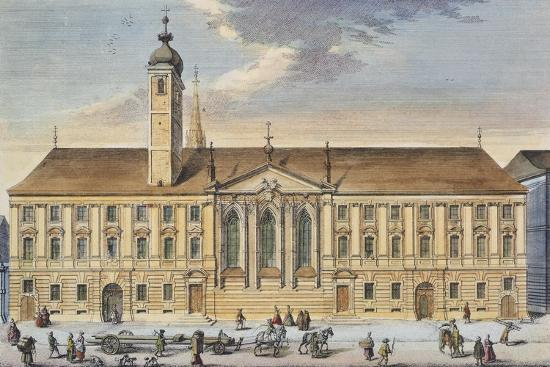 Austria, Vienna, Teutonic Order House and Church of St Elizabeth--Giclee Print