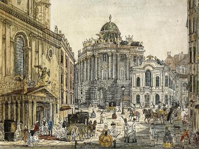 Austria, Vienna, the Old Burgtheater--Giclee Print