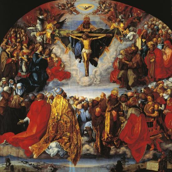 Austria, Vienna, the Trinity--Giclee Print