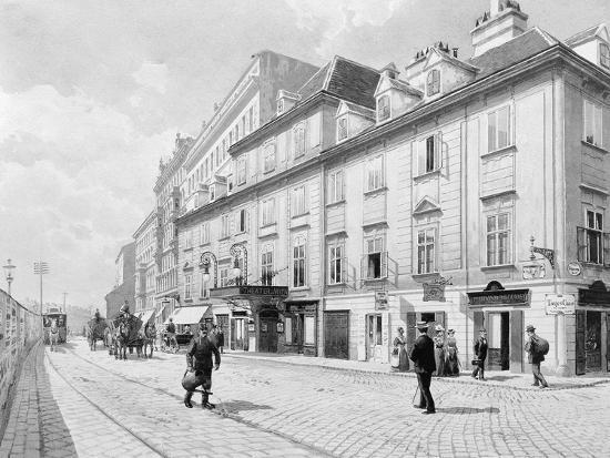 Austria, Vienna, Theatre on Wien River--Giclee Print