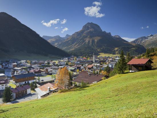 Austria, Vorarlberg (Region), Lechtal, Lech, Omeshorn-Rainer Mirau-Photographic Print