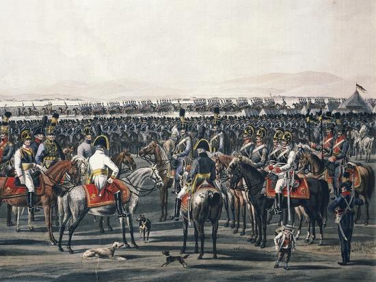 Austrian Cavalry, Napoleonic Wars, Austria--Giclee Print