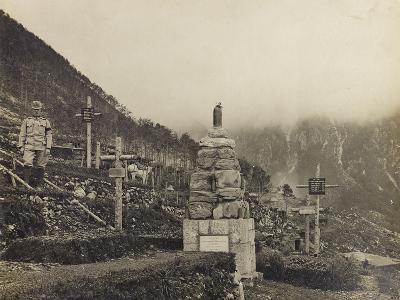 Austrian Cemetery on Grappa--Photographic Print