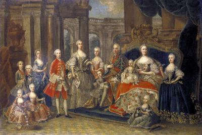 Austrian Imperial Family, C1764--Giclee Print
