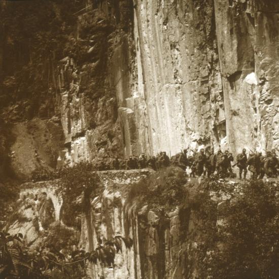 Austrian infantry, Tyrol, c1914-c1918-Unknown-Photographic Print