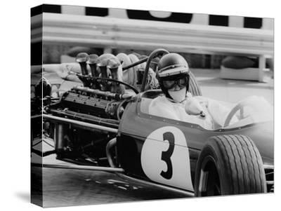 Austrian Pilot Jochen Rindt (1942 - 1970) at Grand Prix of Monaco 1968