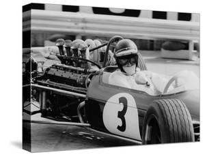 Austrian Pilot Jochen Rindt (1942 - 1970) at Grand Prix of Monaco 1968