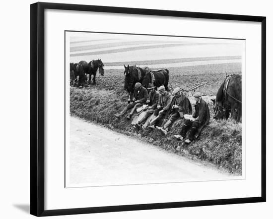 Authentic Ploughman's!--Framed Photographic Print